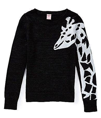 Copper Key 716 Giraffe Arm Sweater #Dillards
