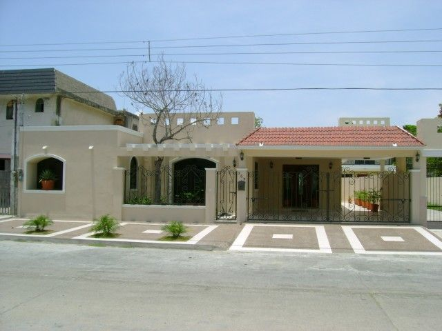 Fachadas de bardas fachadas casas hermosas pinterest for Casa moderna arco