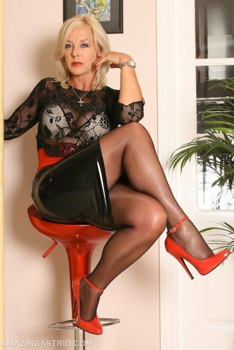 Elegant high heels older women consider