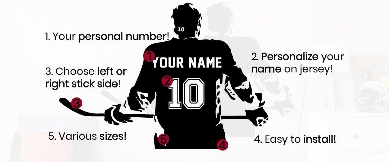 Hockey Girl Sticker By Sportst Shirts In 2020 Hockey Girls Hockey Girl Hockey Shirts