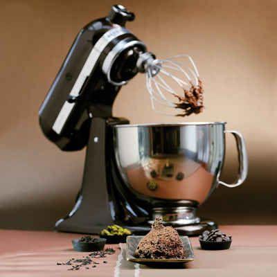 KitchenAid Küchenmaschine Artisan 5KSM156EBZ - mit Sonderzubehör - kochen mit küchenmaschine