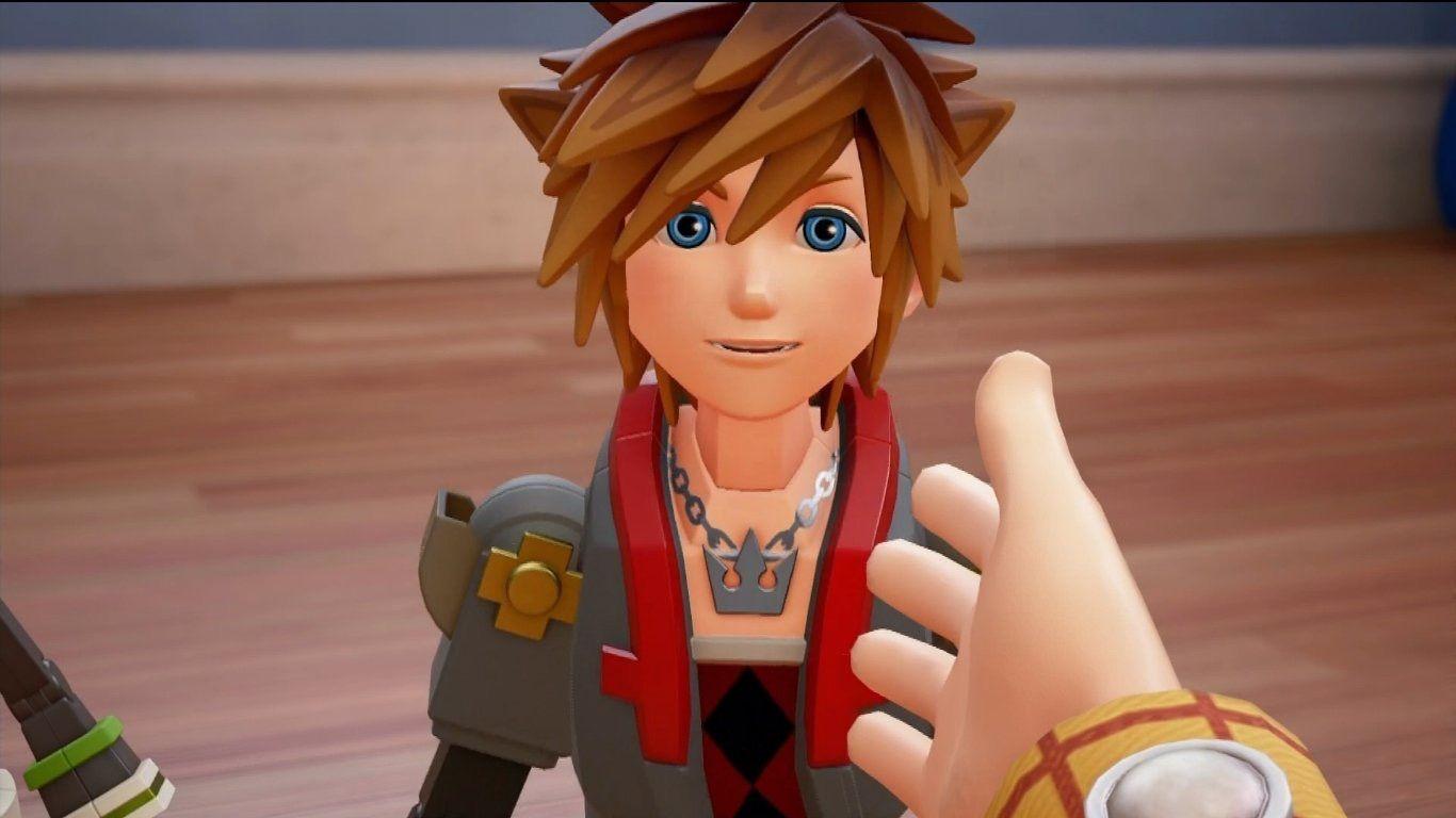 Toy Story World Sora Kingdom Hearts 3 Hyperventilating Kingdom