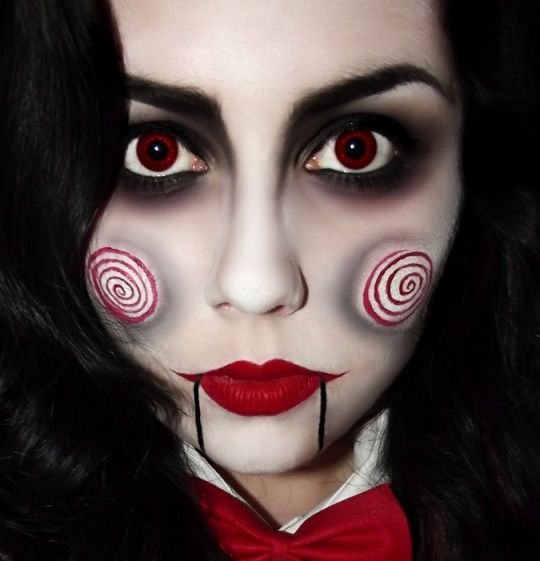 Id Es Maquillage Halloween Jigsaw De Saw Pinteres