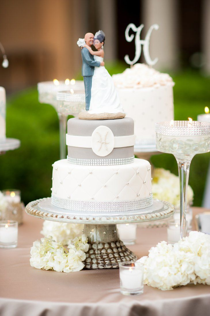 23 Deluxe Wedding Ideas That Sparkle | Wedding cake, Cake and Light ...