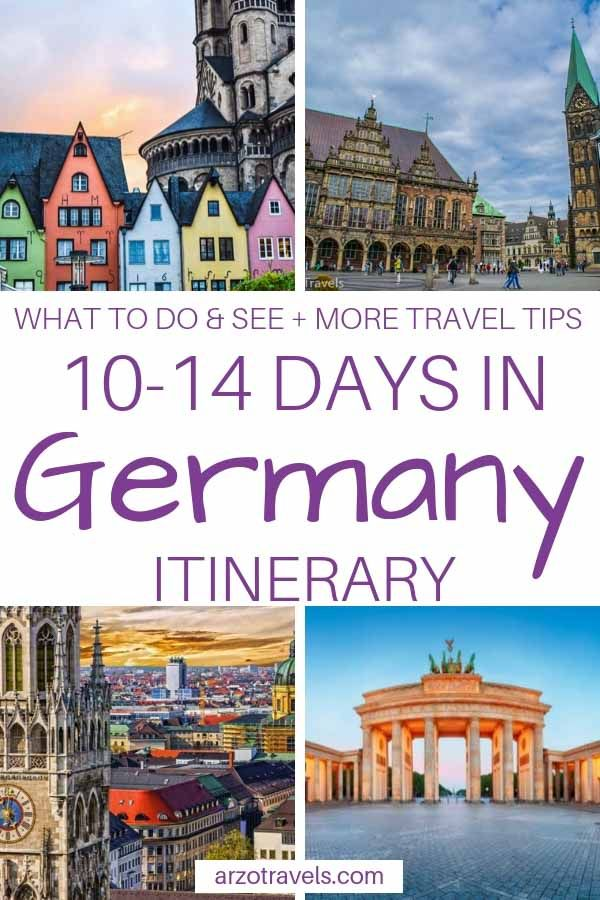 Best Germany Itinerary