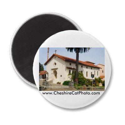 Mission San Rafael Arcángel Fridge Magnets from the Cheshire Cat Photo Store on Zazzle.com