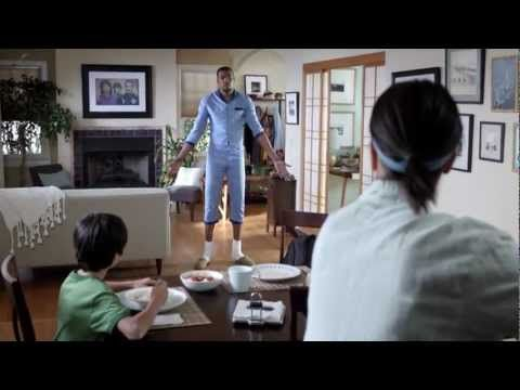 You can never have too much NBA. This Sprint ad shows that with their unlimited data, you'll be so in touch with the game you just might become your favorite player, and your wife will love it!