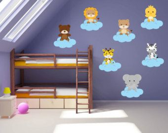 Wall Decals For Kids Bedroom Farm Animal By Yendoprint