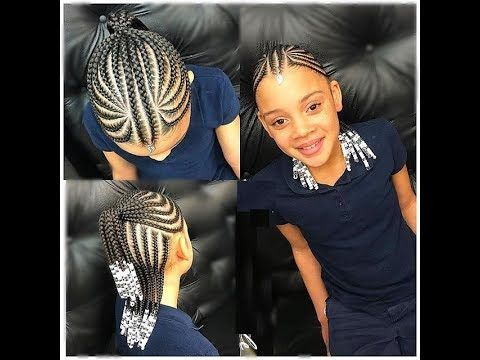 Kids Cornrows Styles 2018 New Collection For Your Little Girls
