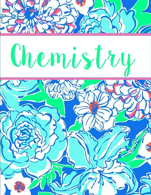 Chemistry Coloring Page For Binder