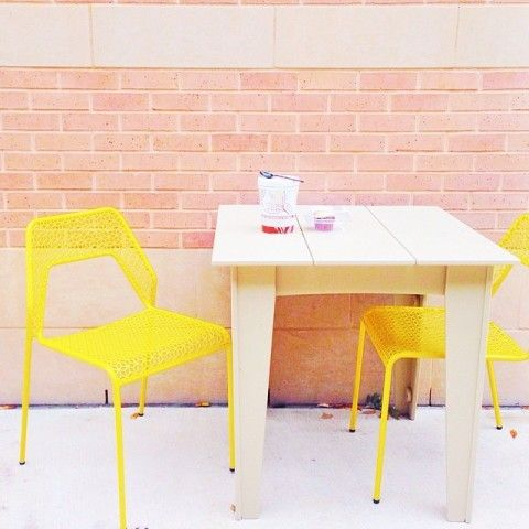 Hot Mesh Indoor / Outdoor Chair | Spotted On Glitterguide