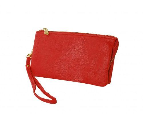 Humble Chic Women's Small Wristlet - Vegan Leather - Red - Leather Wristlet, Red Humble Chic NY http://www.amazon.com/dp/B00D5V12CG/ref=cm_sw_r_pi_dp_Q6K4vb09K4B6N