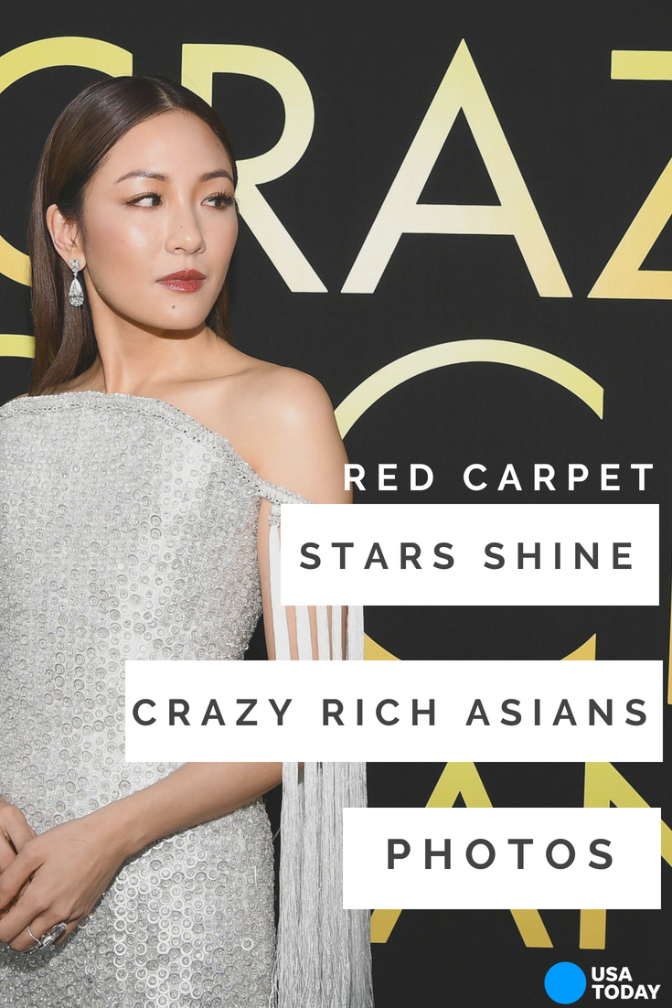 'Crazy Rich Asians' Cast Stuns On The Red Carpet In Wildly