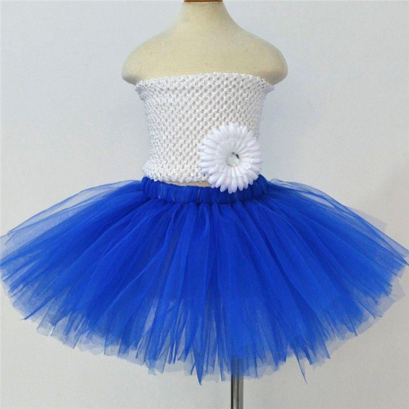 New Kids Girls Skirts Baby Tutu Dancewear Cute Fluffy Tulle Skirt 7 Different Colors Pettiskirt Princess