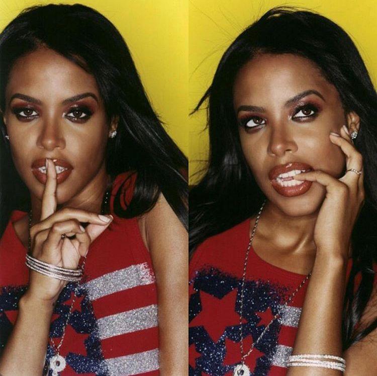 Pin By Ni Acea Snikwah On Aaliyah 1 N A Million Aaliyah Singer