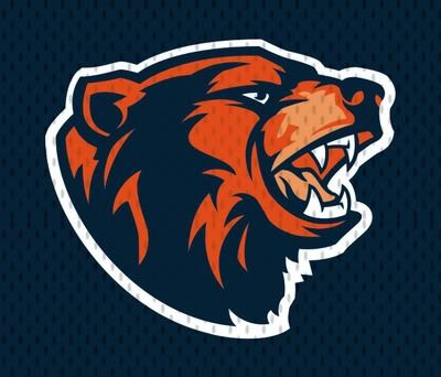 Bear Down Chicago Bears Colors Bear Logo Nfl Bears