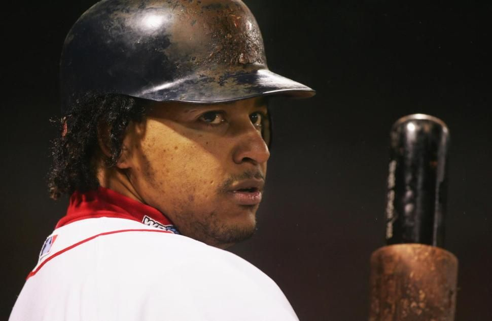 Manny Ramirez is named World Series MVP in 2004 with the Red Sox. He finally admits to PED use Wednesday, according to a Fox Sports report.