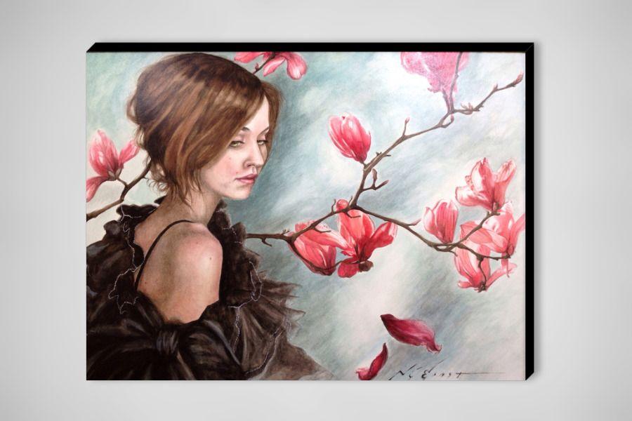 "Saatchi Online Artist: nathan ernst; Watercolor, 2012, Painting ""Magnolias"""
