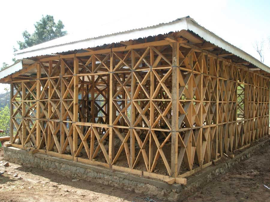 chinese timber frame architecture | Lightweight timber frame with ...