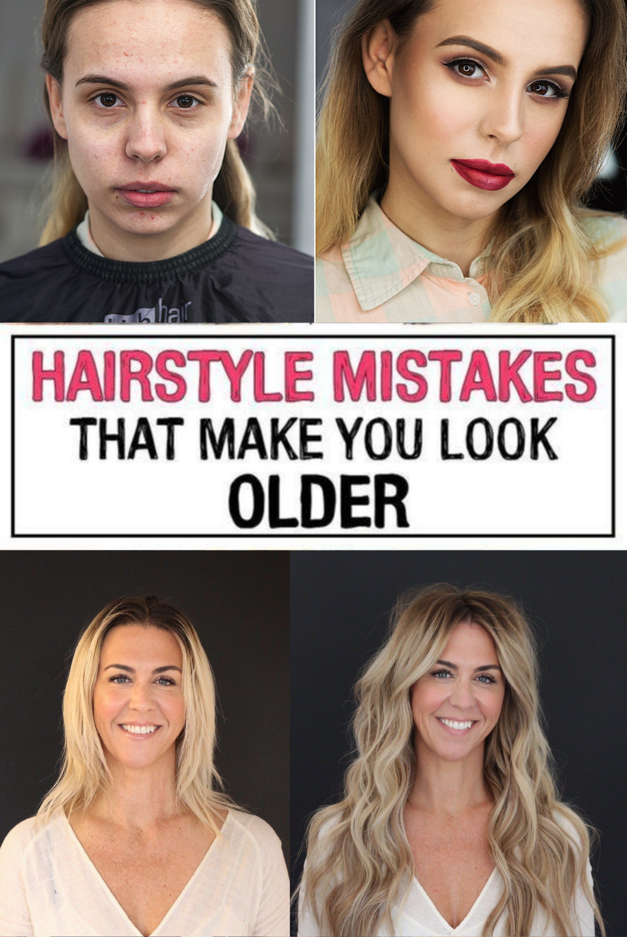 37 Hairstyle Mistakes That Are Aging You In 2020 Hairstyle Hair Mistakes Mom Hairstyles