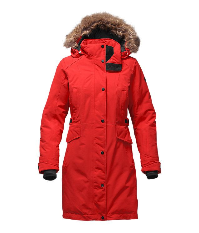 The North Face Women's Tremaya Parka (I want the green colored one ...