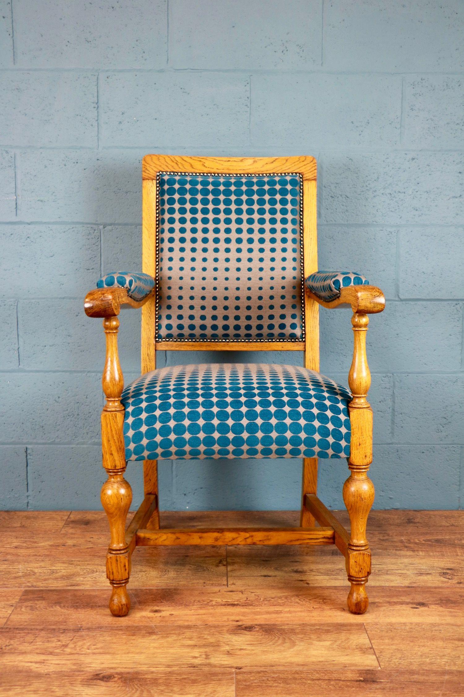 Upholstered oak armchair http://www.walcotandco.co.uk/seating/upholstered-oak-armchair