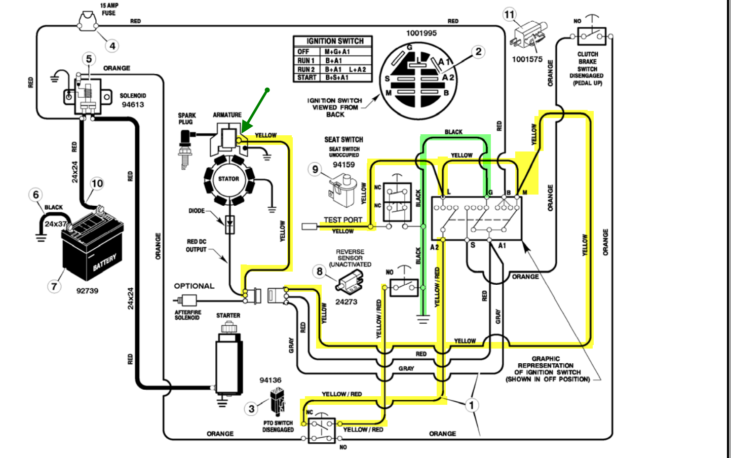 Amf Golf Cart Wiring Diagram 19 Hp Briggs And Stratton Wiring Diagram Diagrams