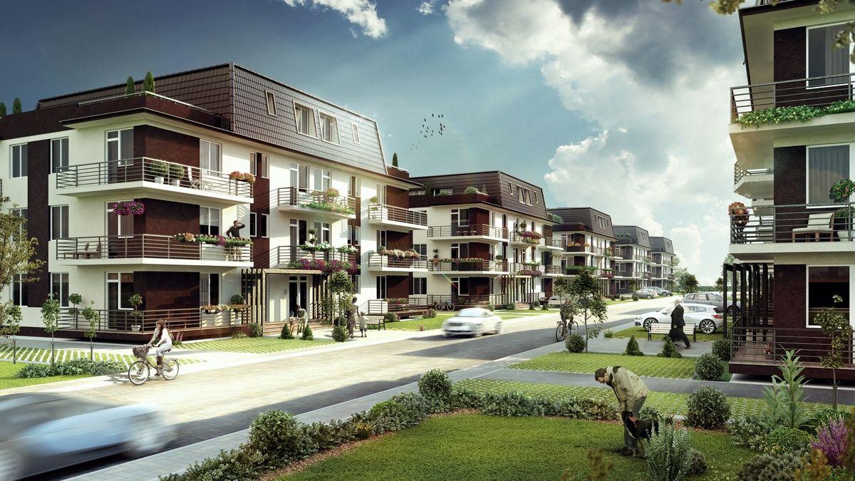 Apartament cu 4 camere - Apartamente ieftine - Garsoniere ieftine Magurele - Planuri si imagini