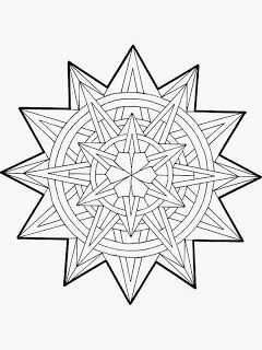 Mandalas To Paint Coloring For Adults Coloring Pages Mandala