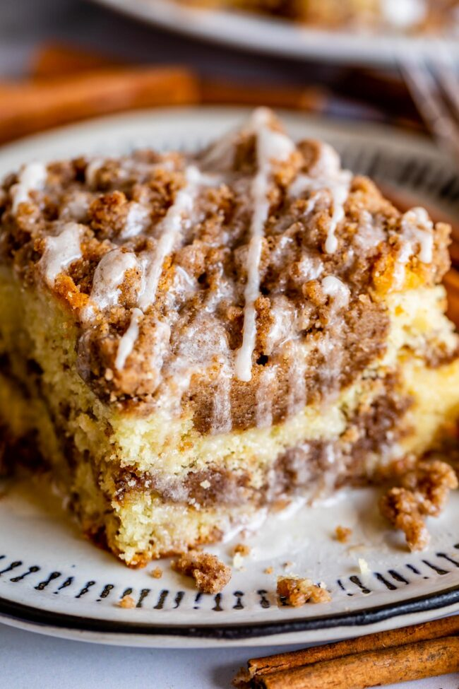 Sour Cream Coffee Cake, with a Ridiculous Amount of