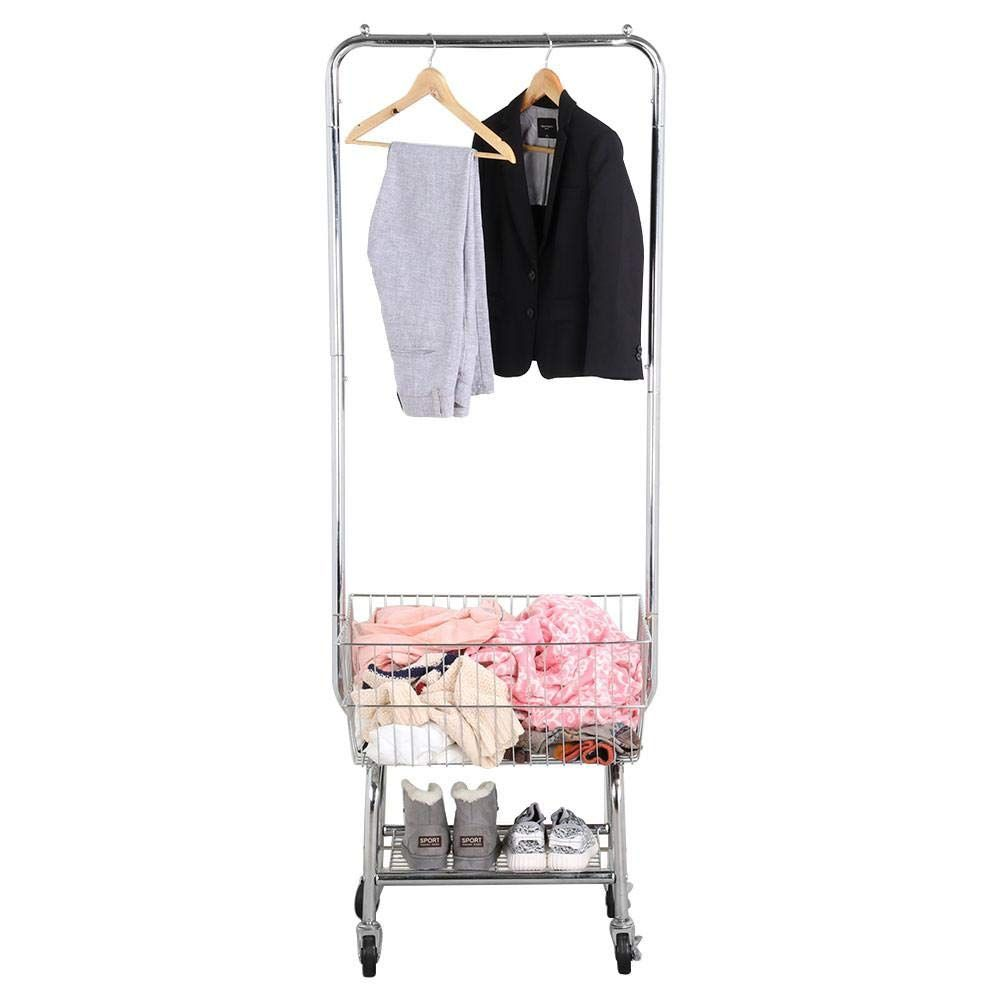 Amazon Com Yaheetech Commercial Laundry Cart Laundry Butler With