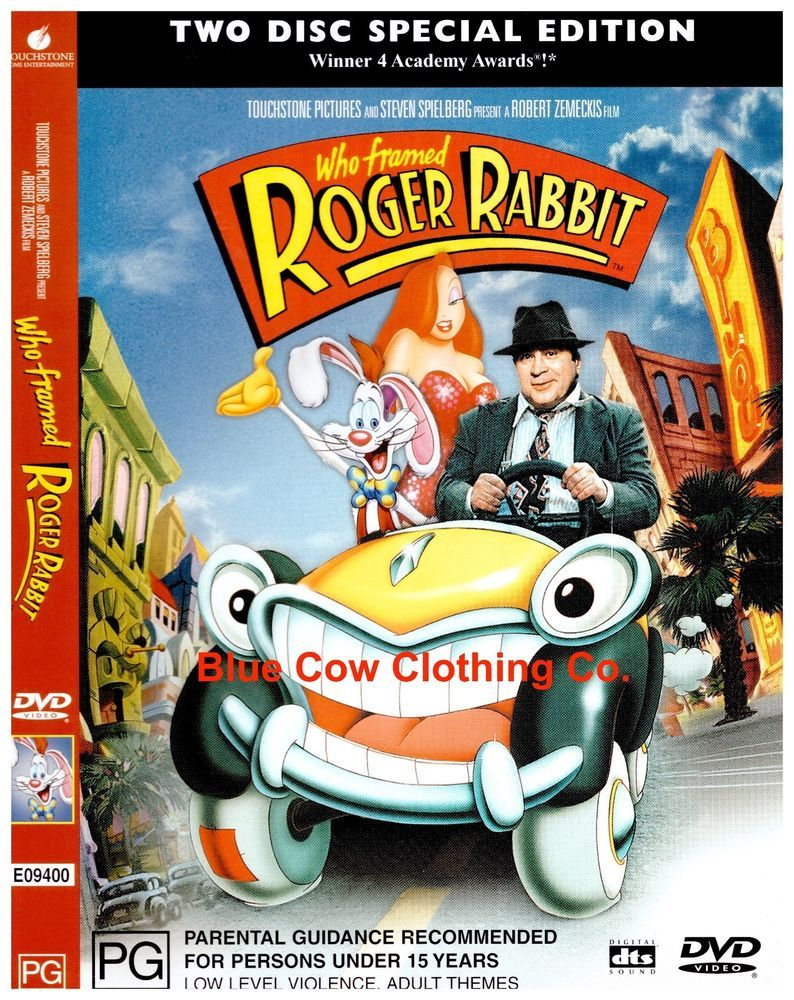 check out who framed roger rabbit dvd r4 two disc special edition https - Who Framed Roger Rabbit Dvd
