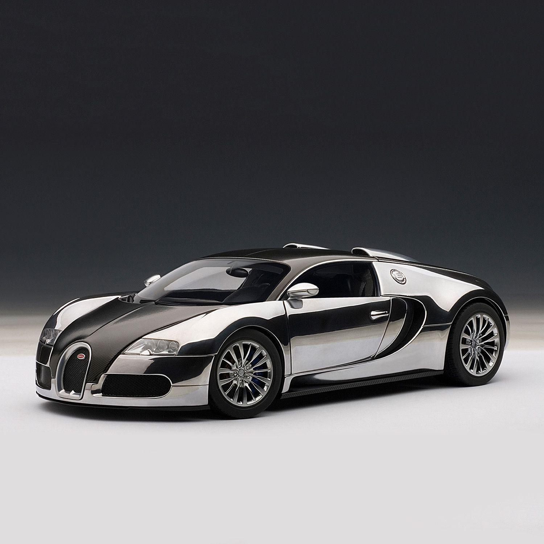 Autoart 1 18 Bugatti Veyron Super Sport Carbon Black: Bugatti EB Veyron 16.4 Pur Sang #Black, #pays, #Aluminum