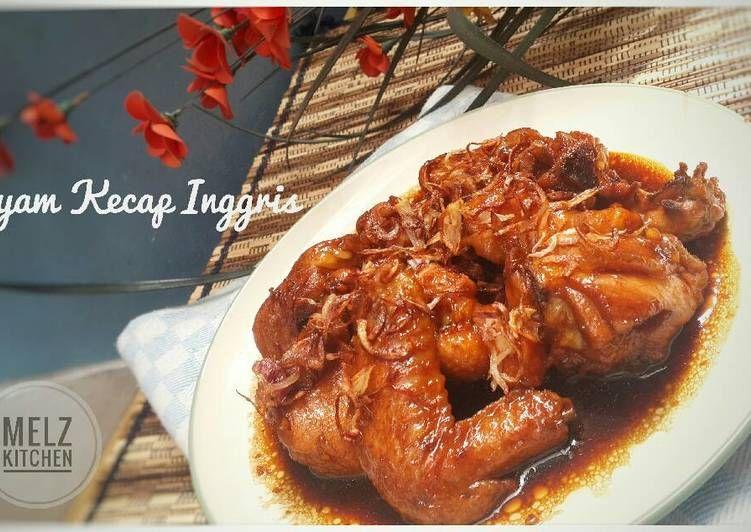 Resep Ayam Kecap Inggris Oleh Melz Kitchen Resep Kecap Inggris Resep Ayam Masakan