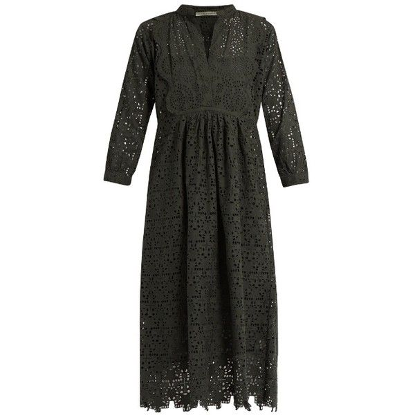Nina broderie-anglaise cotton dress Queene and Belle xl8ux8