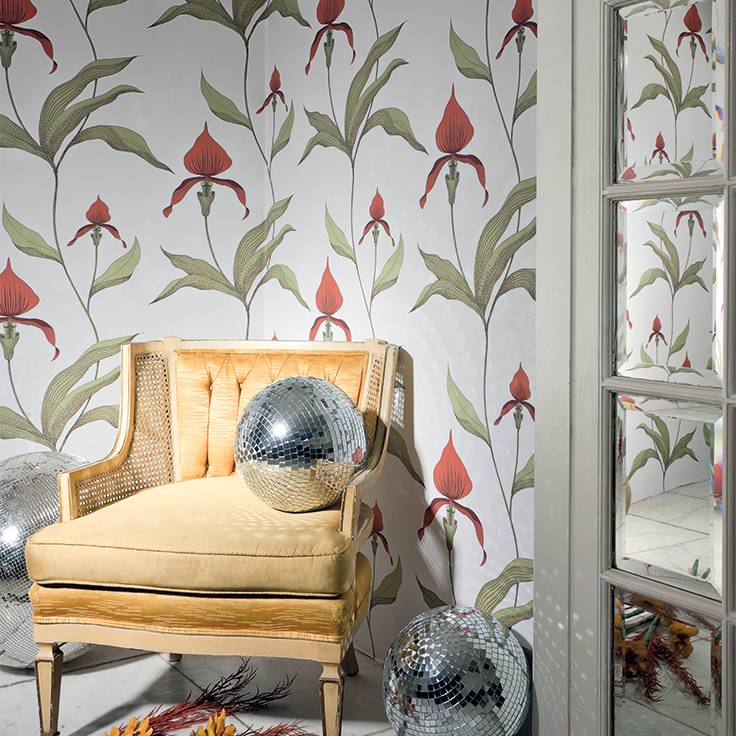 Cole & Son - Contemporary Restyled - Orchid 95-10054 Cole & Son ...