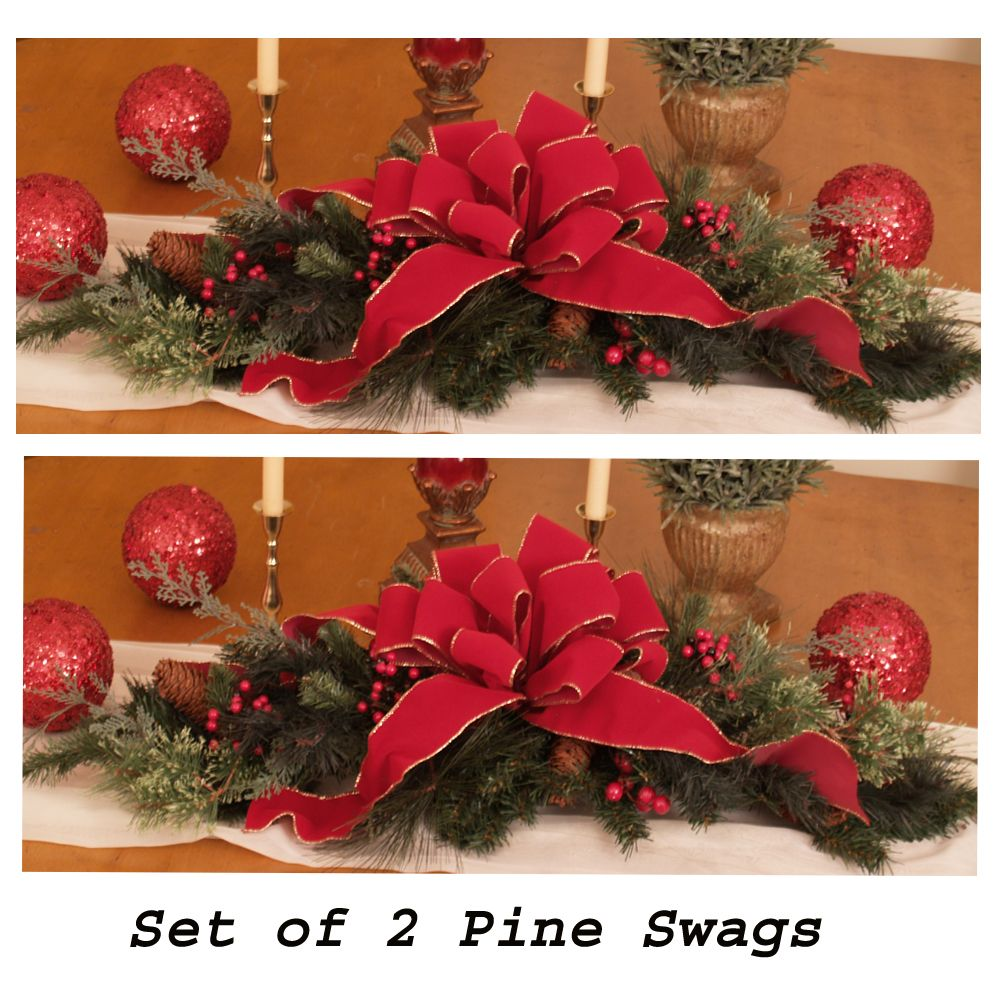 pay attention for this explanation to do the christmas decoration ideas with pine cones or you can download this idea to get the best description - Christmas Table Centerpieces