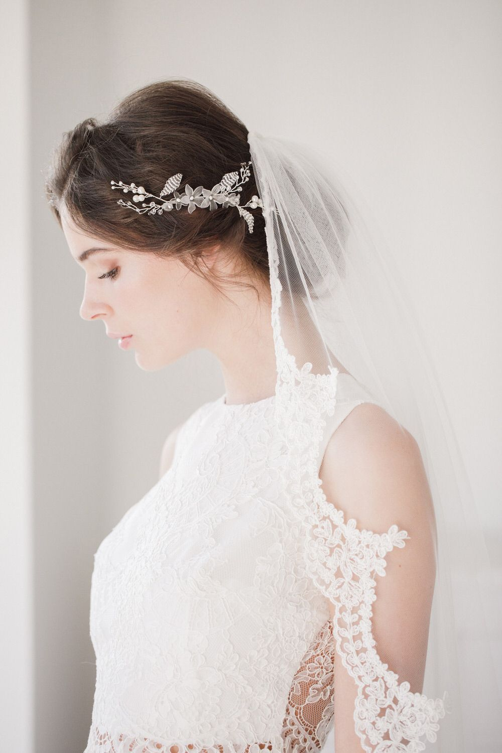 A Guide To Wedding Veils | Hair vine, Veil and Wedding blog