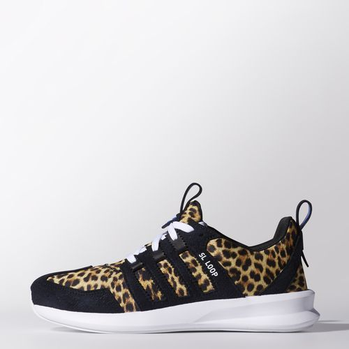 Adidas Sl Leopard Print Sport Shoes
