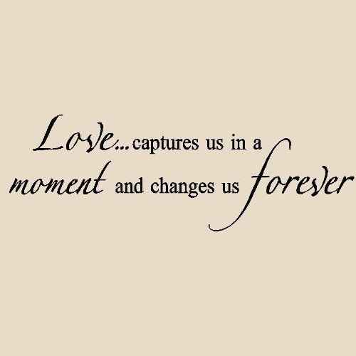 Quotes About Change And Love Wall Quotes For Bedroom  Home  Pinterest  Bedrooms Walls And Truths