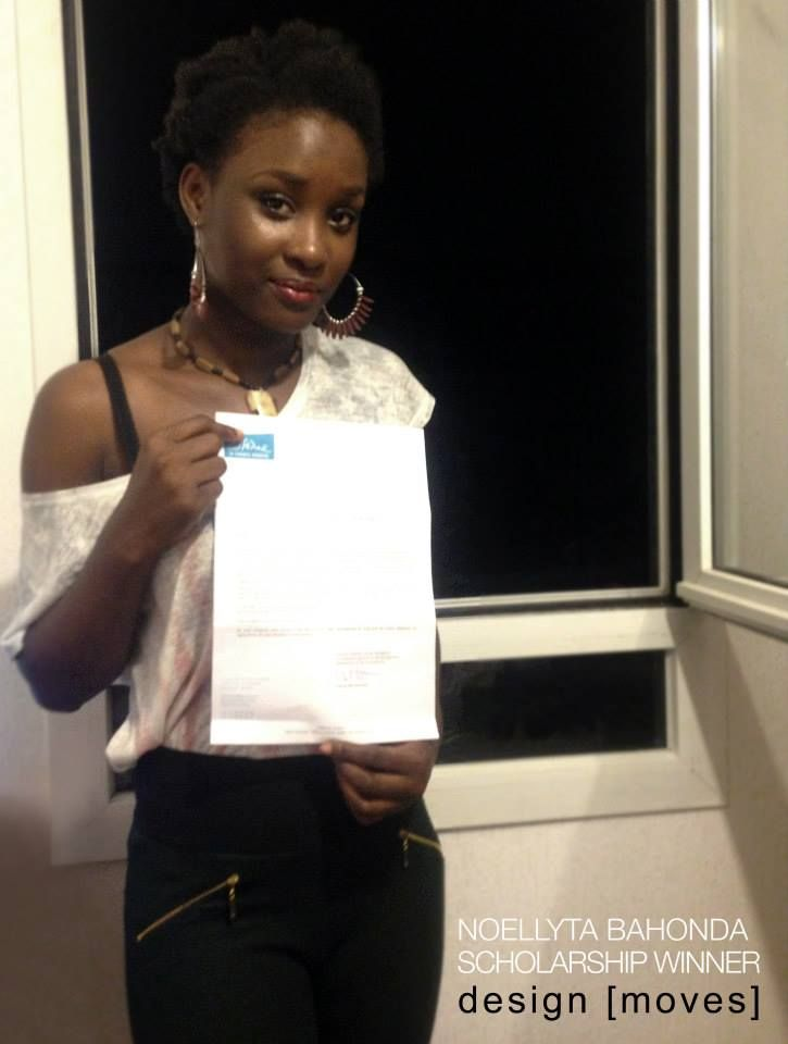 Congrats To Noellyta Bahonda On Winning The Essone Le Conseil General Scholarship Because Of The Design Moves Internship Have A Grea Design Moving Marketing