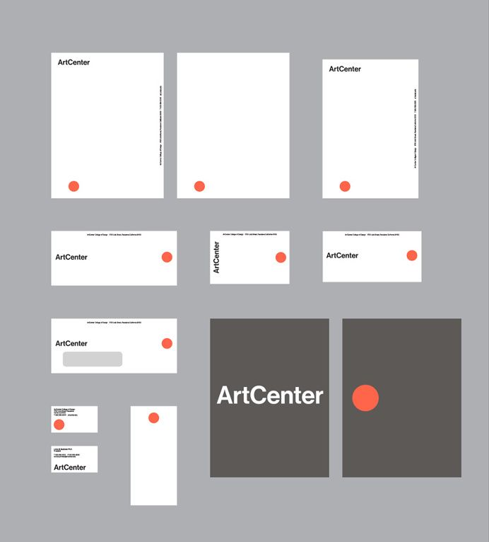 New Logo And Identity For Artcenter Arts College University Logo Identity Minimal Identity Design Inspiration Brand Identity Design Branding Design Logo