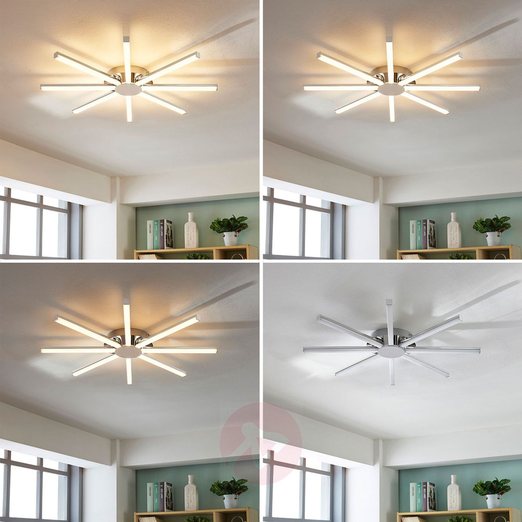 Korona Sun Shaped Led Ceiling Lamp Dimmable 9621610 03 Ceiling Lamp Led Ceiling Lamp Led Ceiling