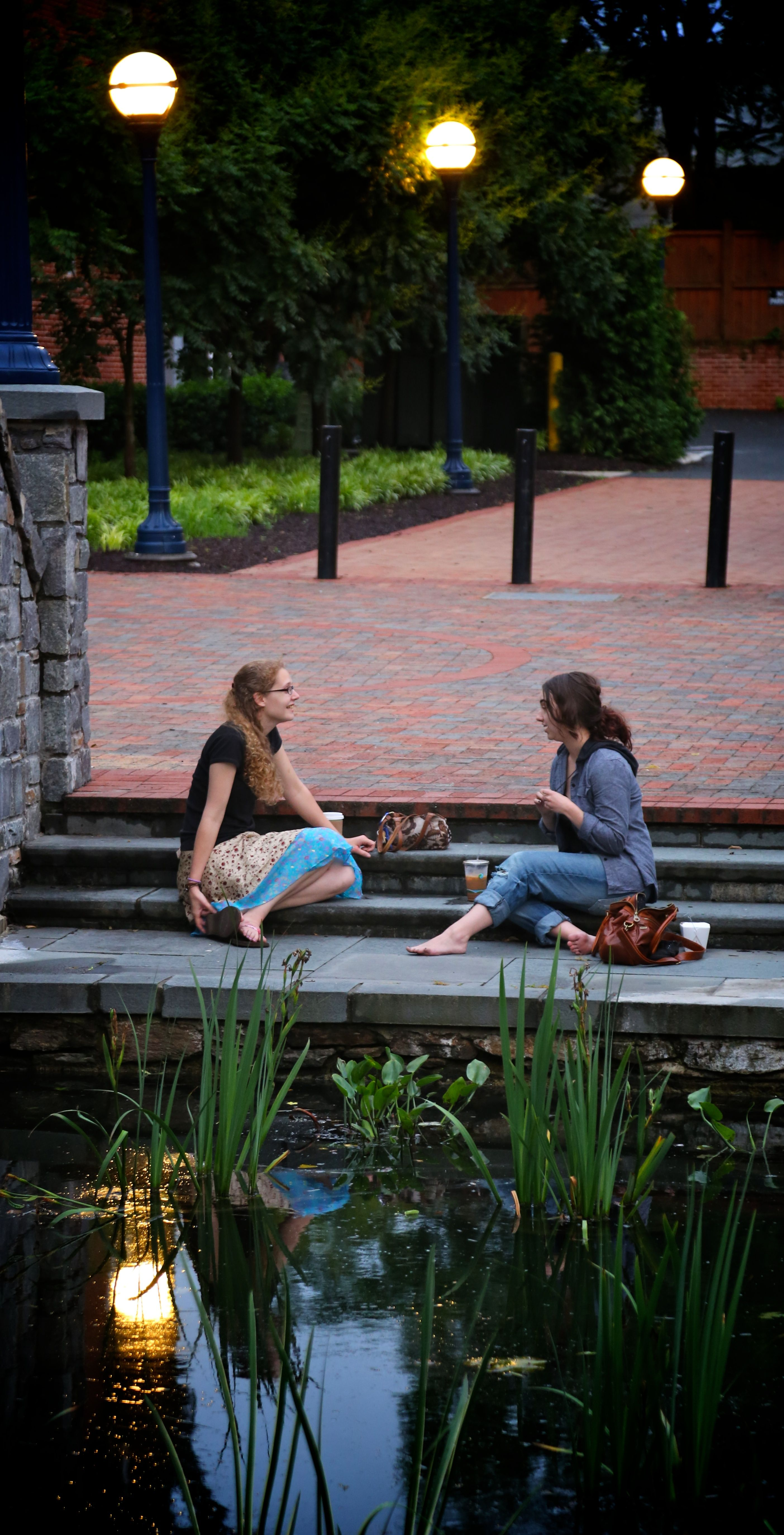 Ladies on Carroll Creek Linear Park 6-13