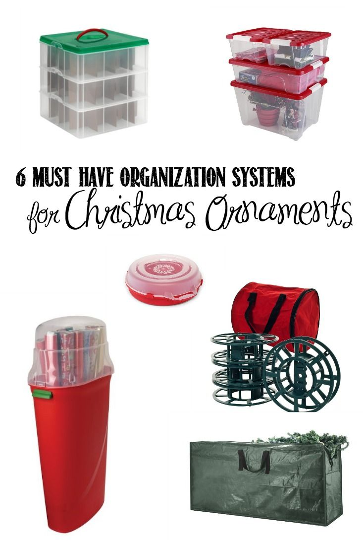 Plastic Christmas Tree Storage Box Simple Tips For Organizing Christmas Ornaments  Christmas Ornament Decorating Design