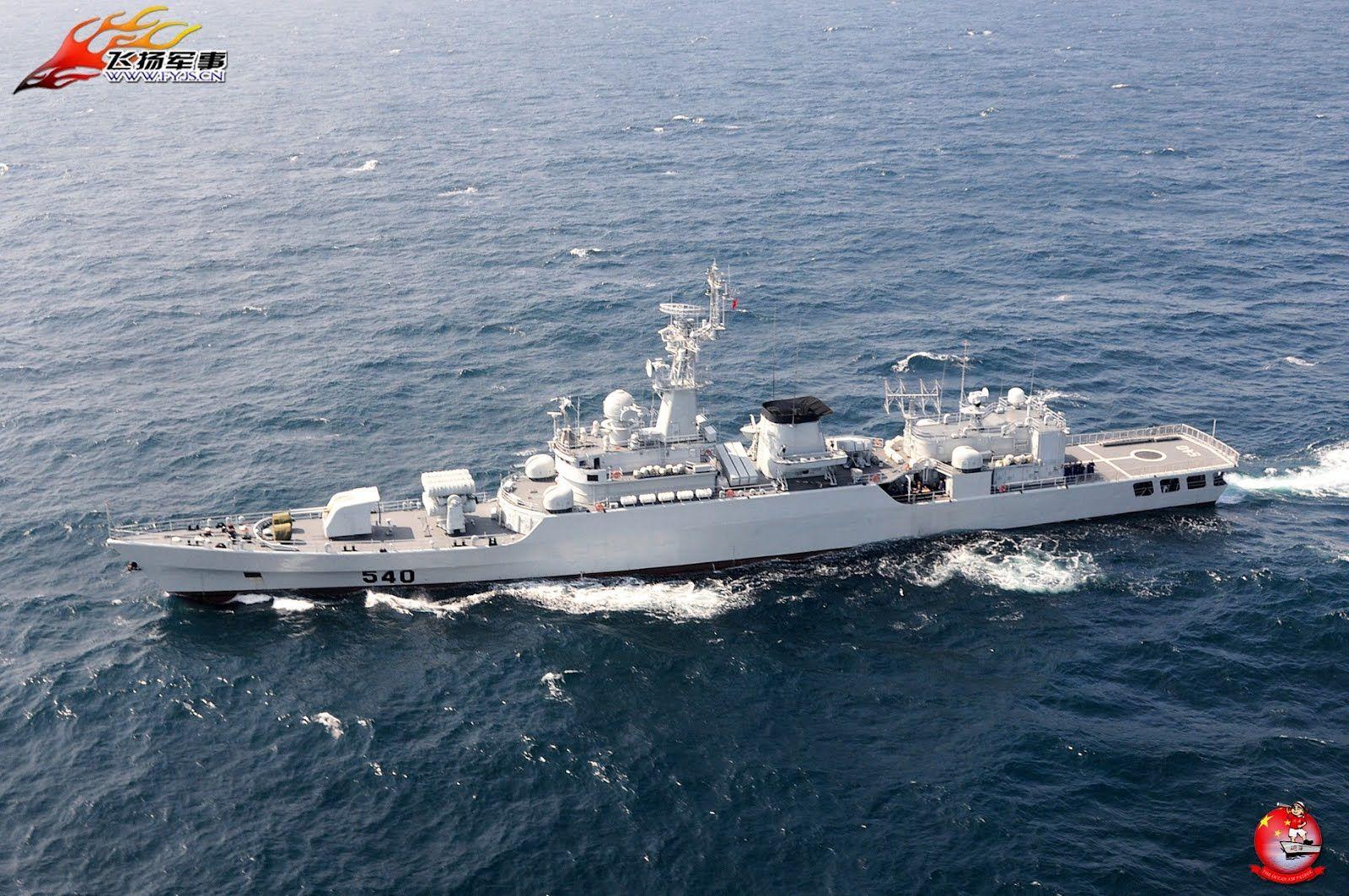huainan 540 type 053h2g jiangwei i class frigate china