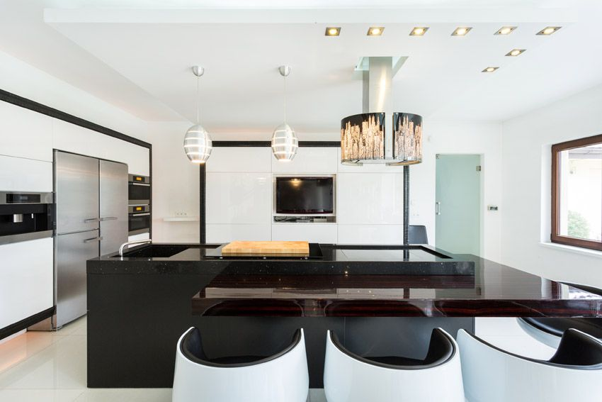 33 Modern Kitchen Islands Design Ideas  Modern Kitchen Island Beauteous Modern Kitchen Island Design Decorating Design