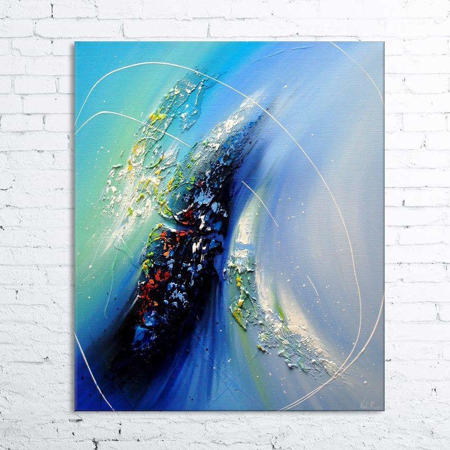 Windaria tableau abstrait moderne contemporain peinture for Tableau peinture contemporain