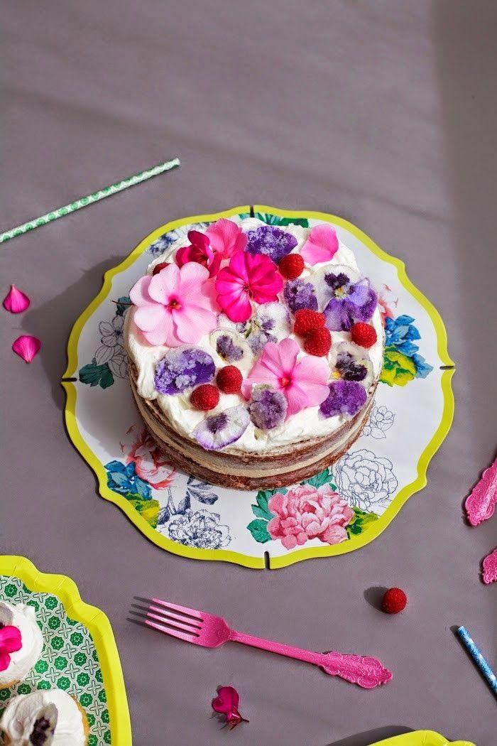 Crystallized Sugar Flower Cake + Poppytalk For Target