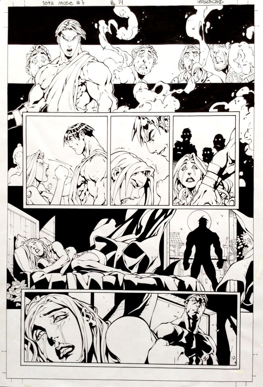 10th Muse #07, page 14 - Roger Cruz, in RogerCruz's 10th Muse #07 Comic…